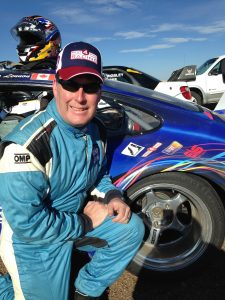 """Chris Lennon, author of """"The Peak of Racing - Pikes Peak Through the Racers' Eyes"""""""
