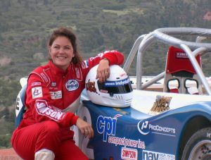 Jeri Unser, Contributor to The Peak of Racing - Pikes Peak Through the Racers' Eyes