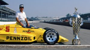 Rick Mears, Contributor to The Peak of Racing - Pikes Peak Through the Racers' Eyes